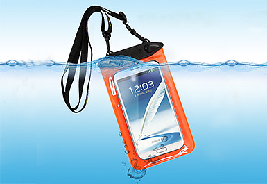 Your iPhone need a waterproof phone pouch
