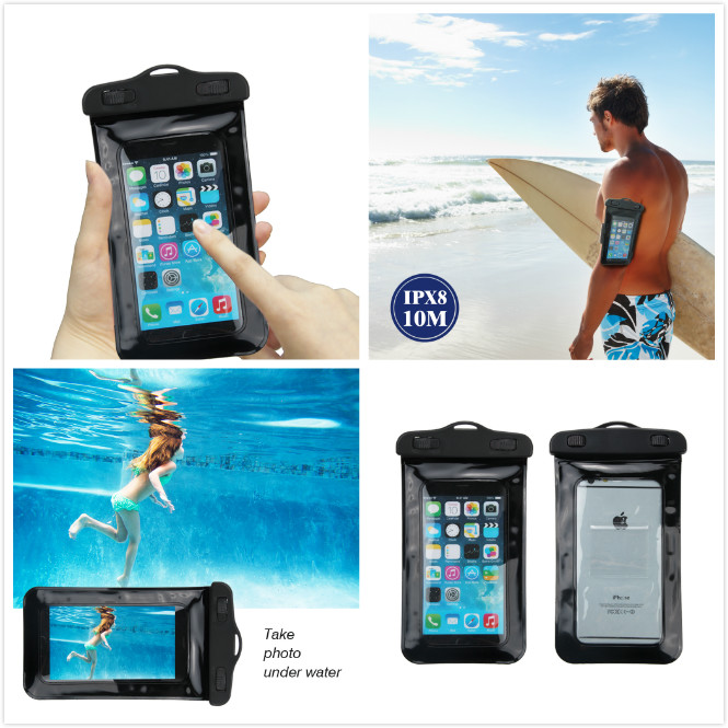 Multi-purpose Waterproof Smartphone Pouch