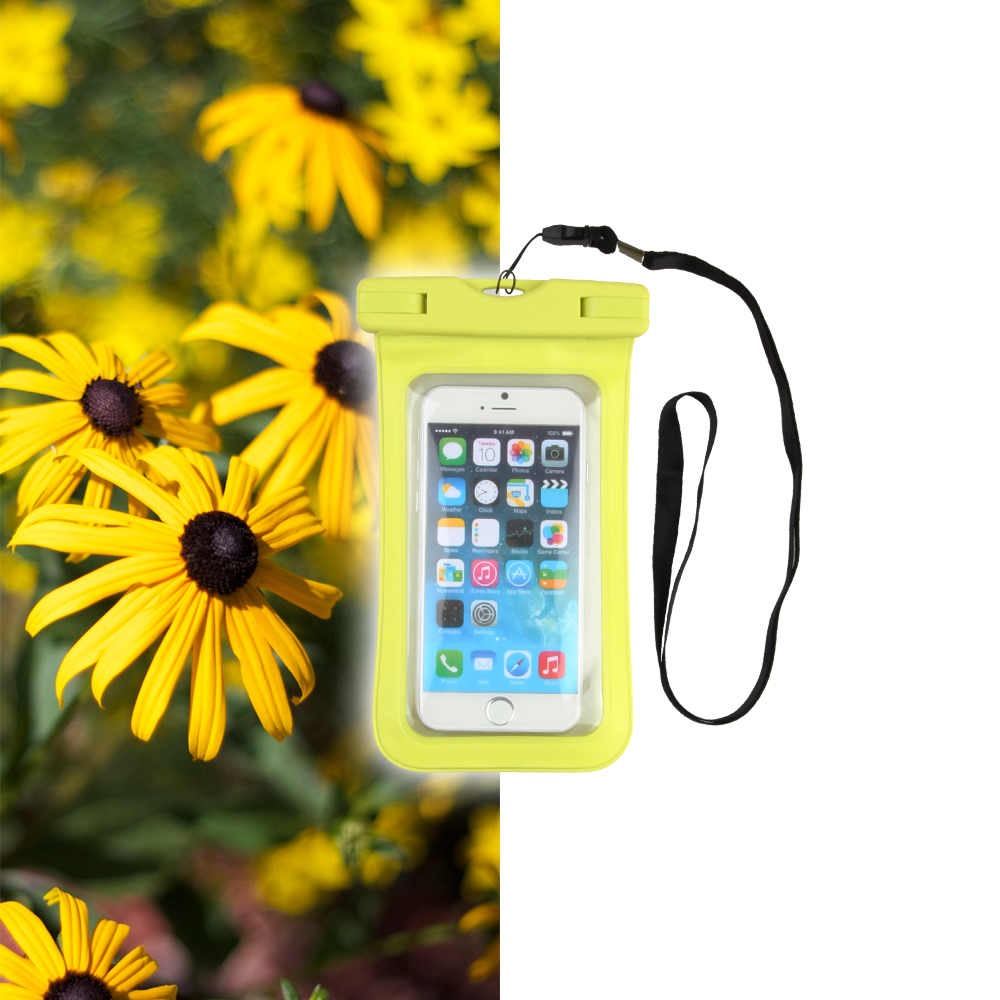 Keeping your iPhone dry with a waterproof case